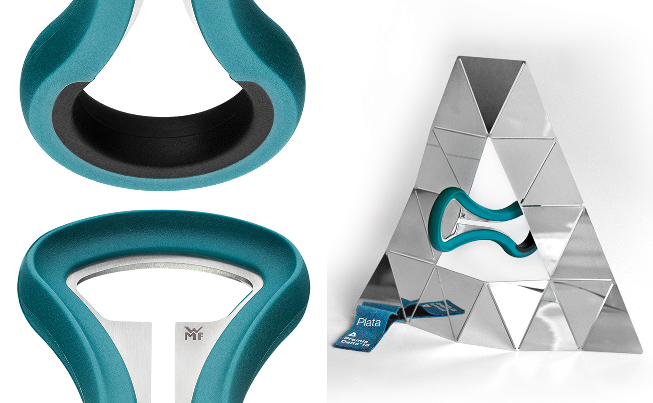 Multibottle opener designed for WMF by Jordi Pla won's Silver Delta Award from Adi Fad 2018.