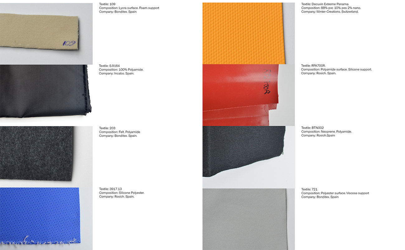 radio thermoforming textile foam kvadrat electronic components volums deformations hightech research